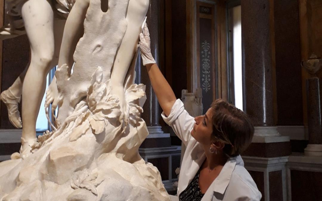 Manutenzione della Galleria Borghese di Roma